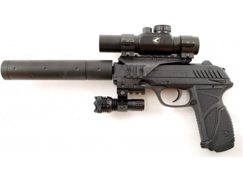 Pištola zračna GAMO PT-85 blowback TACTICAL