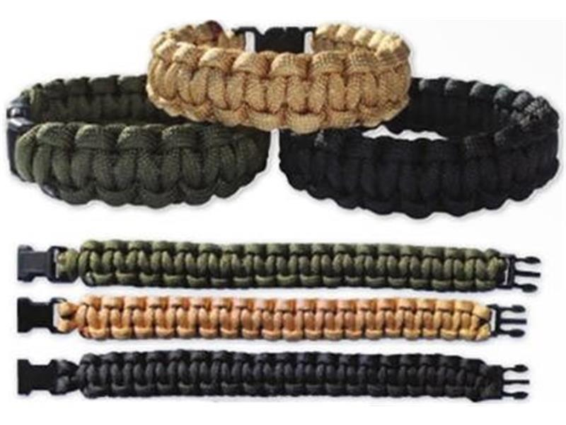 Zapestnica Paracord 22 mm coyote