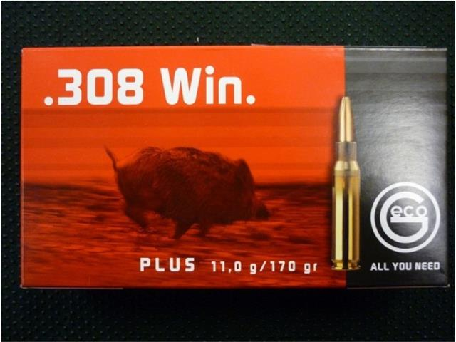 Naboj GECO .308 win PLUS 11.0g