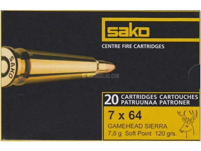 Rifle ammunition-7x64 EN
