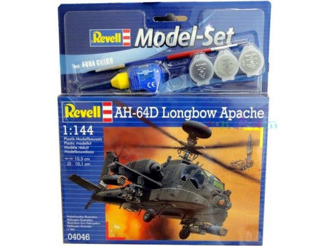 Model set REVEL AH-64D Longbow Apache 1:144