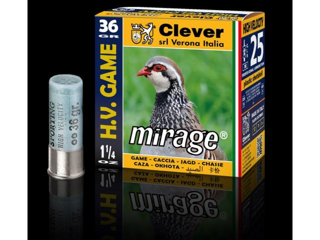 Naboj CLEVER Mirage T3 HV 36g 3,0 mm - HIGH VELOCITY