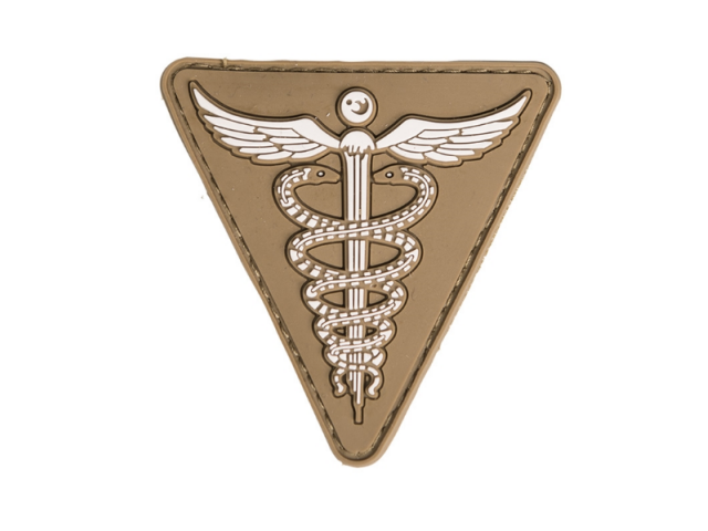 Wiggle patch  MEDIC coyote
