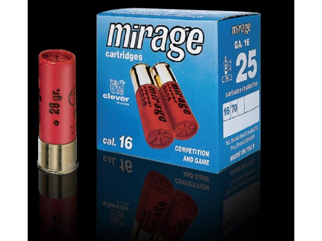 Naboj MIRAGE Clever 16/70 3,10 mm