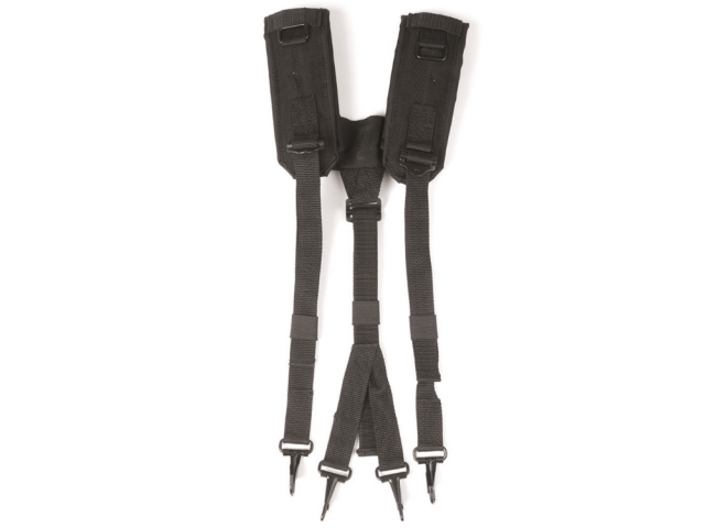 BLACK US LC2 SUSPENDERS